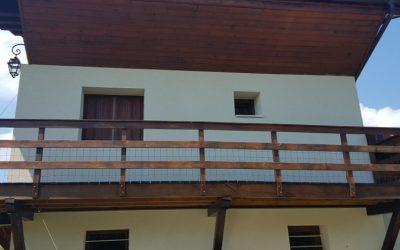 Isolation thermique par l'extérieur - REJ - Margerie chantagret - Monts du forez forez