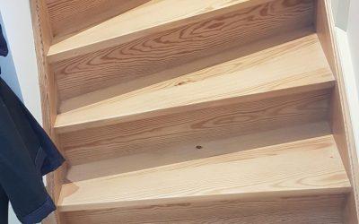 Vitrificateur Escalier bois - REJ - Montbrison - Plaine du forez